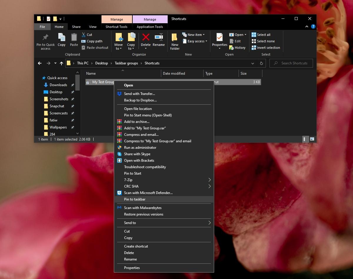 how to group apps on the taskbar on windows 10 1 How to group apps on the taskbar on Windows 10