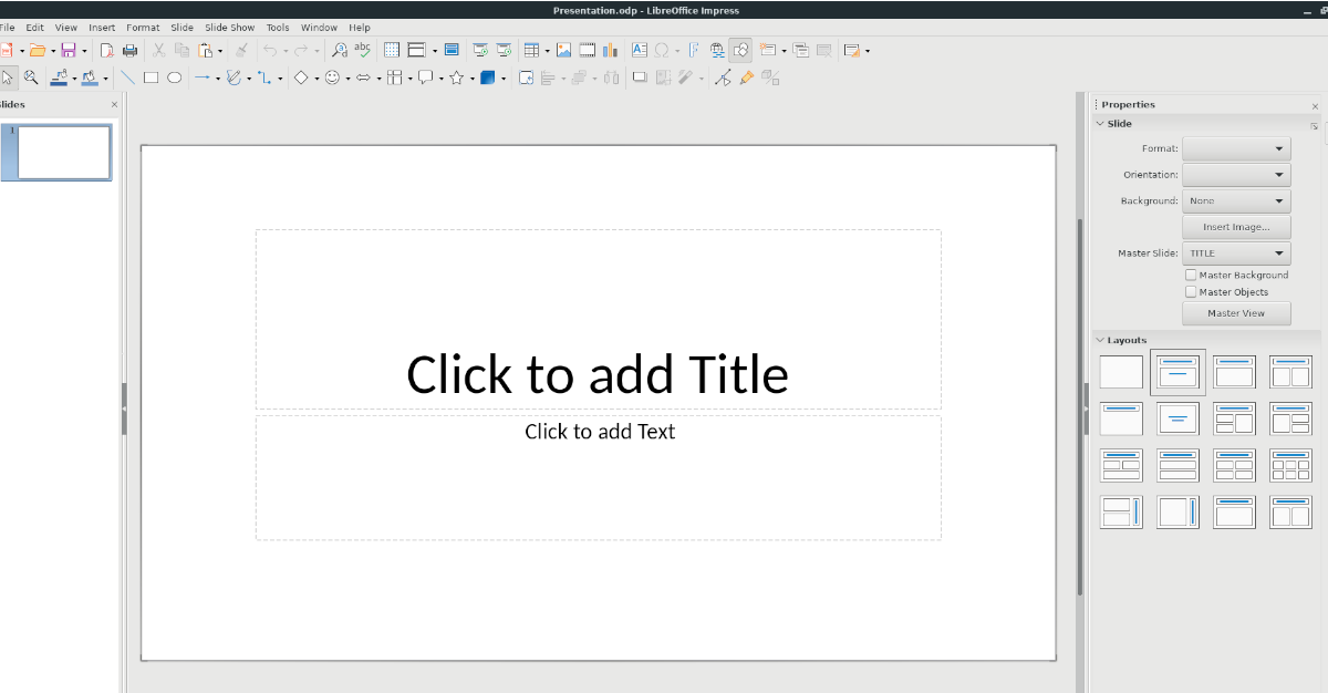how to open microsoft powerpoint files in libre office 3 How to open Microsoft Powerpoint files in Libre Office