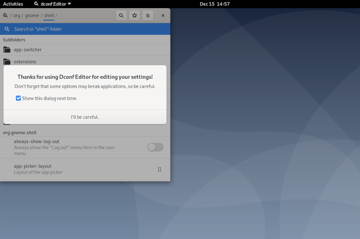 how to reset the favorite list in gnome shell on How to reset the favorite list in Gnome Shell on Linux