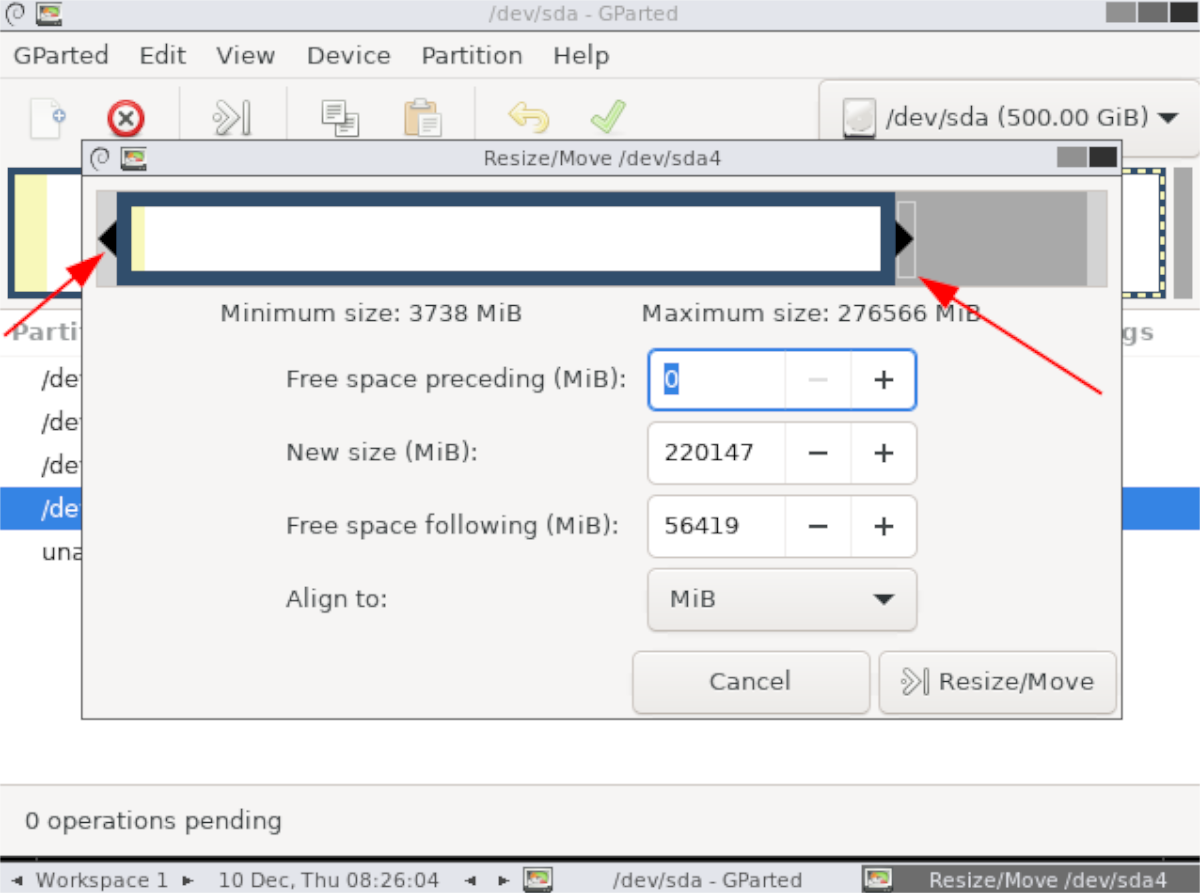 how to resize the home partition on linux 5 How to resize the home partition on Linux