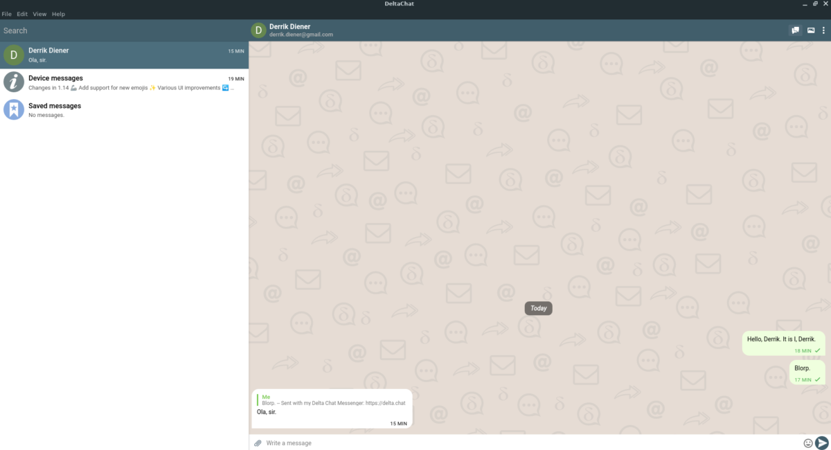 how to turn your email into an instant messenger on How to turn your email into an instant messenger on Linux