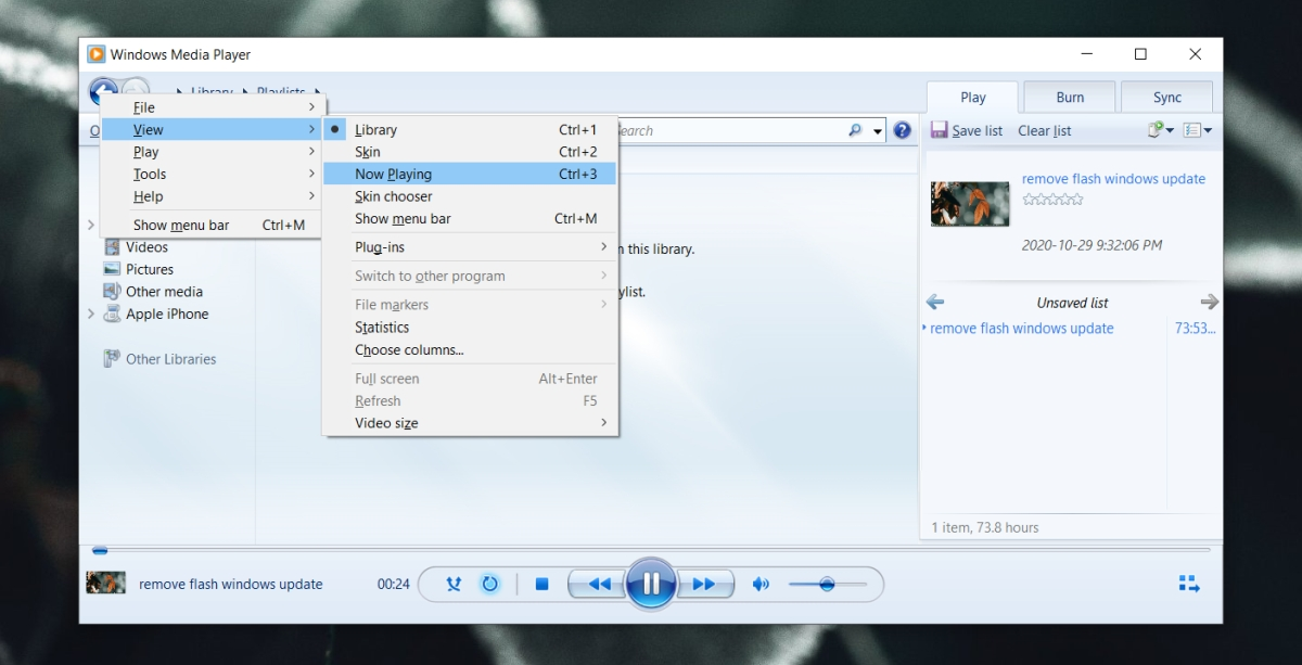 windows media player not showing video just sound fixed 1 Windows Media Player Not Showing Video (Just Sound) – FIXED