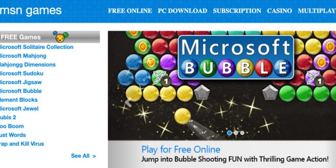 5 Great MSN Free Games for Casual Online Play