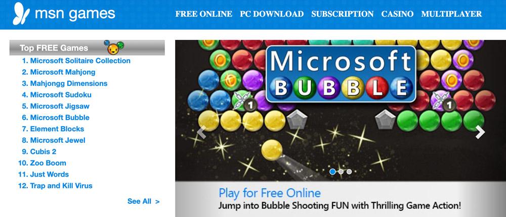 MSN Free Games