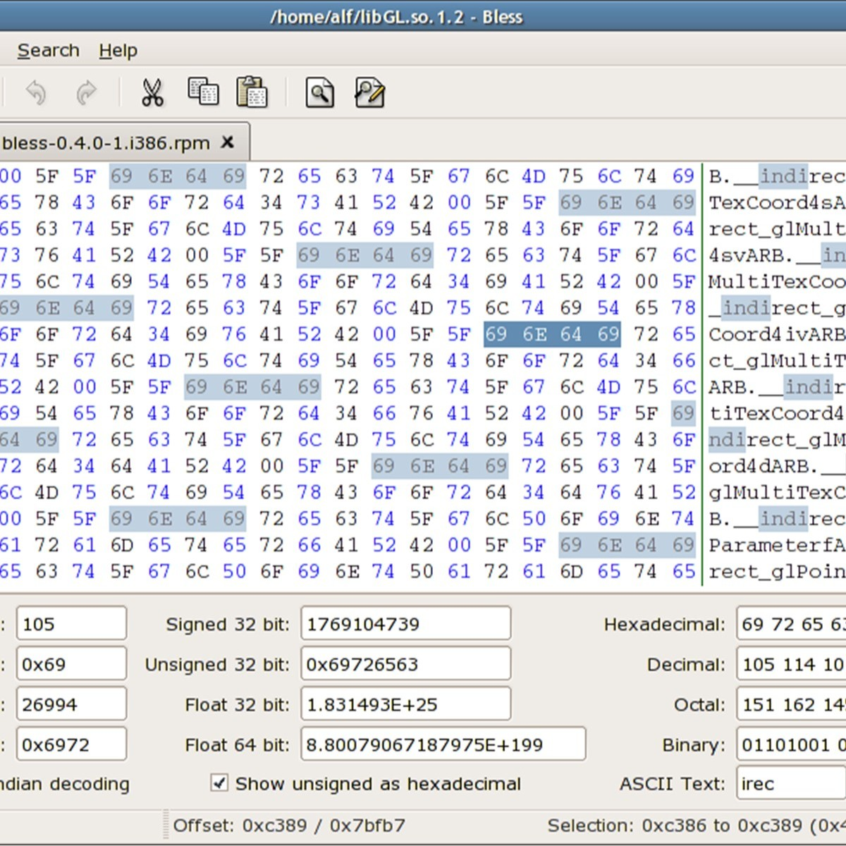 bless linux hex editor installation guide Bless: Linux hex editor installation [Guide]