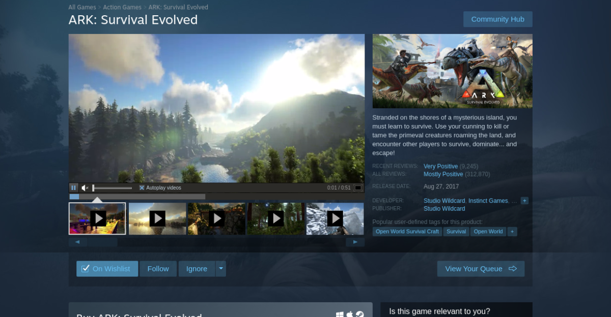 how to play ark survival evolved on linux 1 How to play ARK: Survival Evolved on Linux