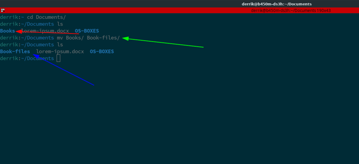how to rename directory in How to rename directory in Linux