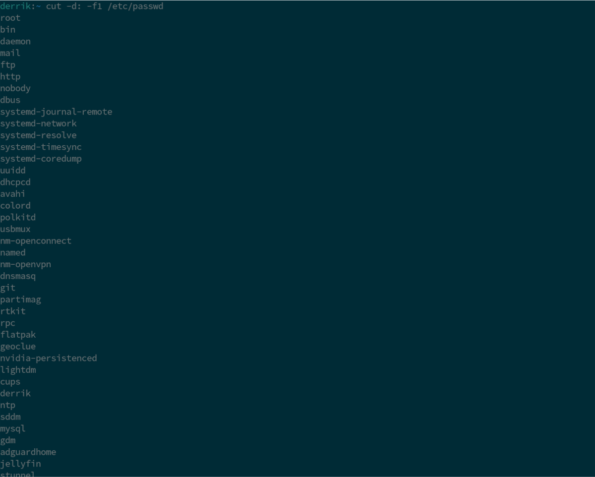 linux list all users guide 2 Linux: list all users [Guide]