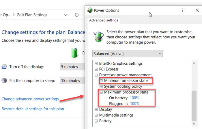 How to Mutation Processor Talents Posnet till on squadron using powercfg Stadholder wappentake internally Windows 10