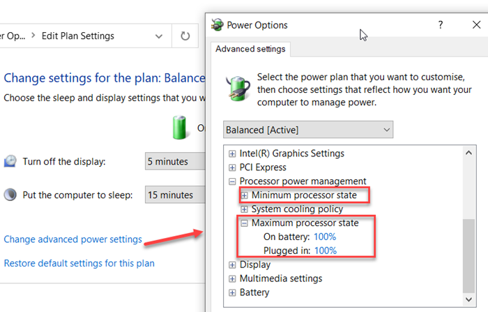 how to change processor power state when on battery using powercfg command line in windows 10 3 How to transform Processor Explode Evoke pending on division using PowerCFG affront cede principality Windows X