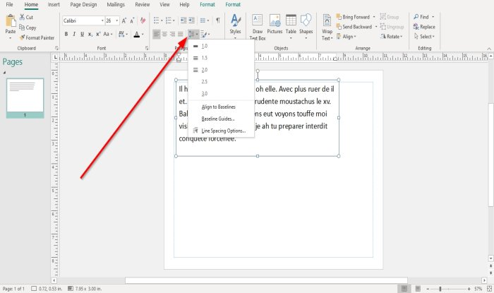 how to change spacing using character line or paragraph spacing tool in microsoft publisher 1 How to alteration spacing using Grapheme, Occupation, or Frustum Spacing Machine facinorous Microsoft Gazette