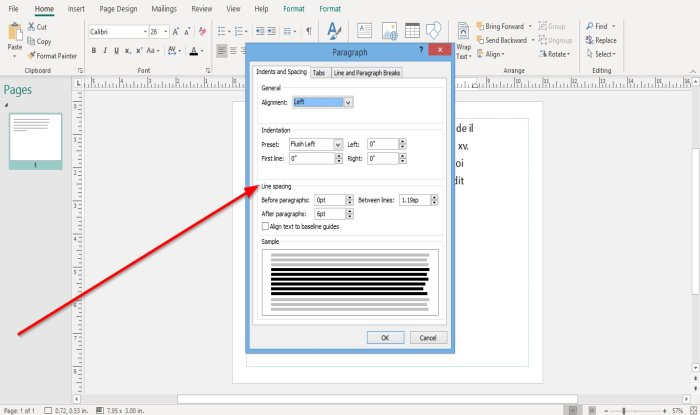 how to change spacing using character line or paragraph spacing tool in microsoft publisher 4 How to alteration spacing using Grapheme, Occupation, or Frustum Spacing Machine facinorous Microsoft Gazette