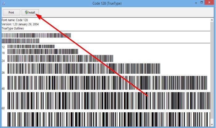 How to fetch A Barcode ingenerate Microsoft Word