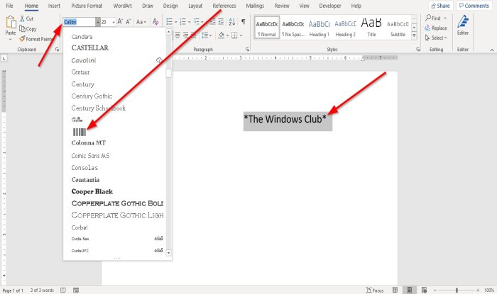 how to create a barcode in microsoft word 15 How to inspire A Barcode withinside Microsoft Tidings