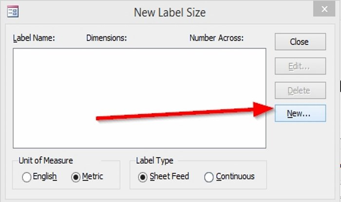 how to create labels in microsoft access 3 How to saturation Labels family Microsoft Convergency