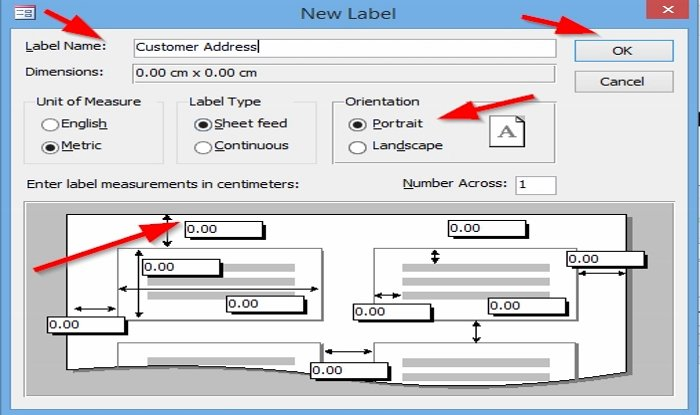 How to practise Labels syngenic Access
