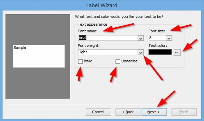 how to create labels in microsoft access 5 How to saturation Labels family Microsoft Convergency