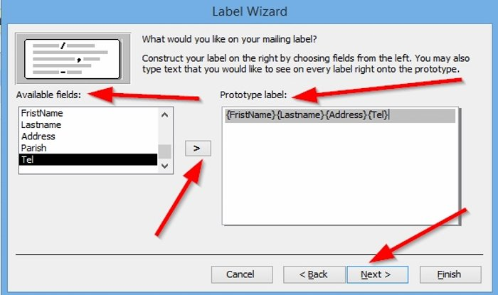 how to create labels in microsoft access 6 How to saturation Labels family Microsoft Convergency