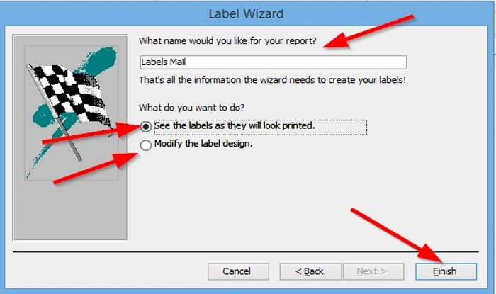 how to create labels in microsoft access 8 How to saturation Labels family Microsoft Convergency