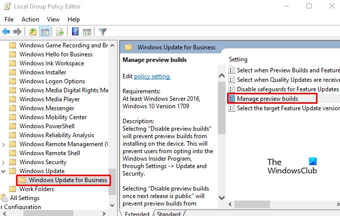 How to Ratten Windows Insider Apse Settings in Windows 10