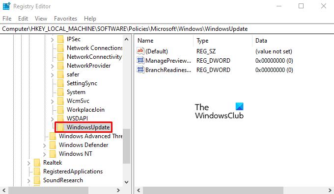 Disable Windows Insider Map Settings