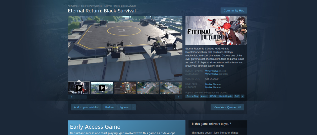how to play eternal return black survival on linux 2 How to play Eternal Return: Black Survival on Linux