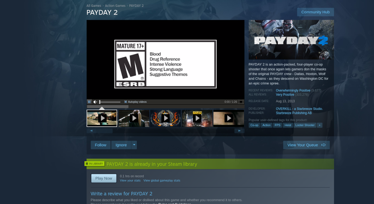 how to play payday 2 on linux 2 How to play Payday 2 on Linux