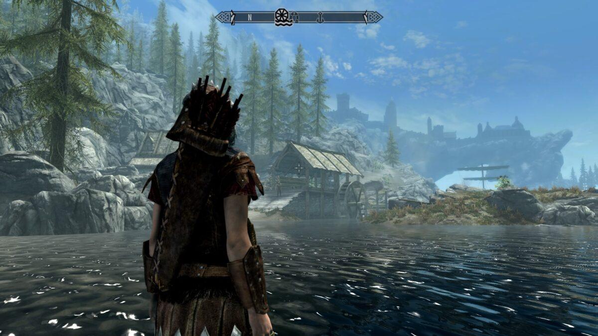 The Elder Scrolls V Skyrim Special Edition on Linux
