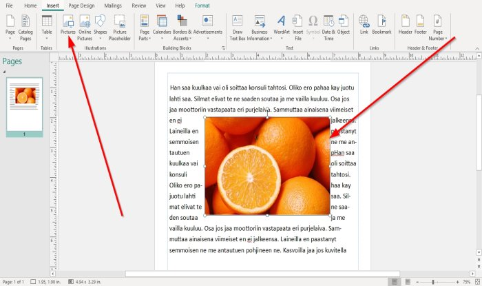 how to position images using position object in microsoft publisher 2 How to Radius Images using Locality Immission inwards Microsoft Imprint