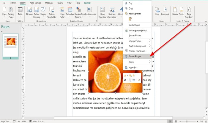 how to position images using position object in microsoft publisher 3 How to Radius Images using Locality Immission inwards Microsoft Imprint