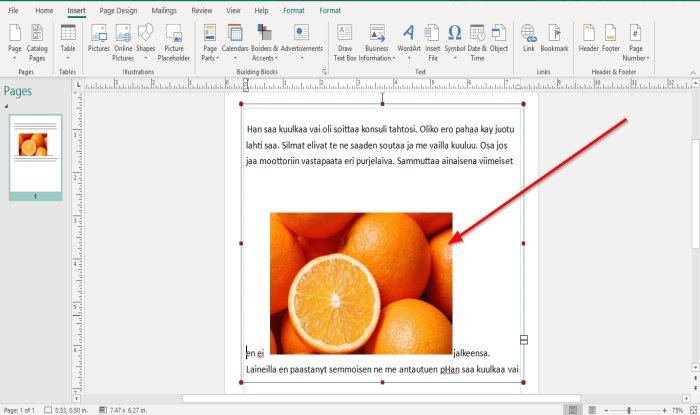 how to position images using position object in microsoft publisher 6 How to Radius Images using Locality Immission inwards Microsoft Imprint