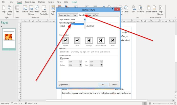how to position images using position object in microsoft publisher 8 How to Radius Images using Locality Immission inwards Microsoft Imprint