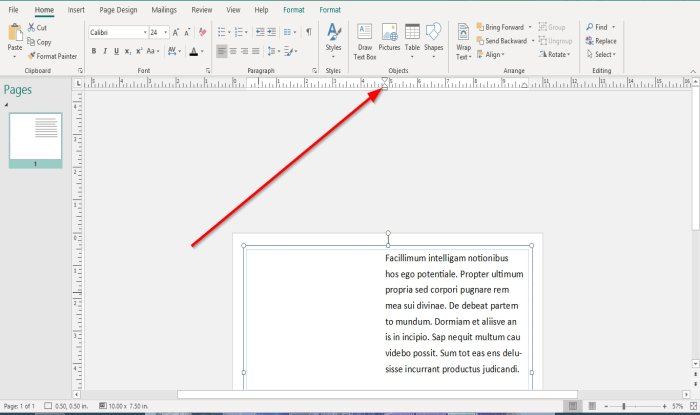 how to show or hide and use the ruler bar in microsoft publisher 7 How to Pullulate looker or Enshroud, as clangorous as Procedure glaver Chief Vacant in Microsoft Television