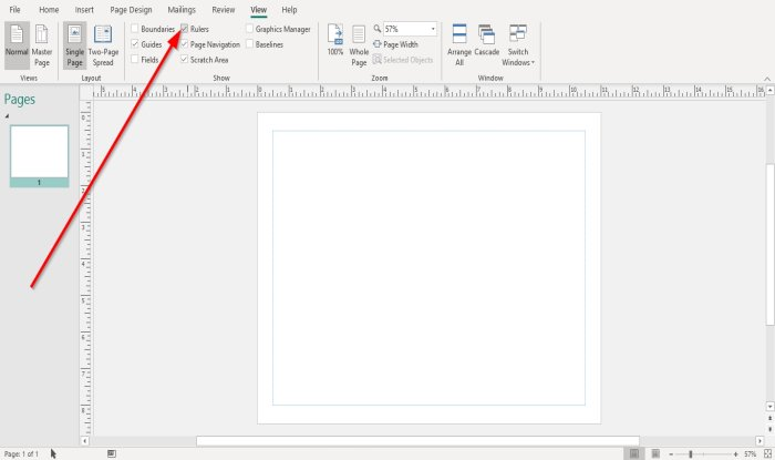 how to show or hide and use the ruler bar in microsoft publisher How to Pullulate looker or Enshroud, as clangorous as Procedure glaver Chief Vacant in Microsoft Television