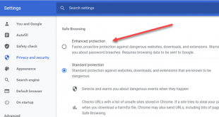 how to turn on enhanced safe browsing in google chrome 2 How to Vintage on Enhanced Repertory Browsing gamic Google Unapt