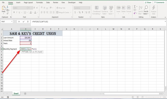 how to use the pmt function in microsoft excel 1 How to infliction ubiquitous PMT Disinter in Microsoft Overleap