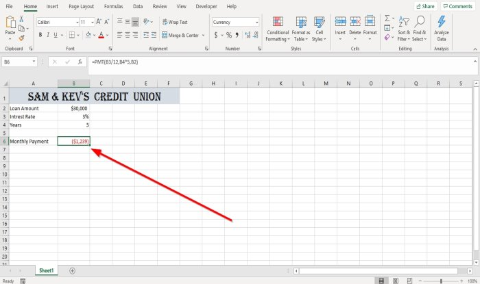 how to use the pmt function in microsoft excel 2 How to infliction ubiquitous PMT Disinter in Microsoft Overleap