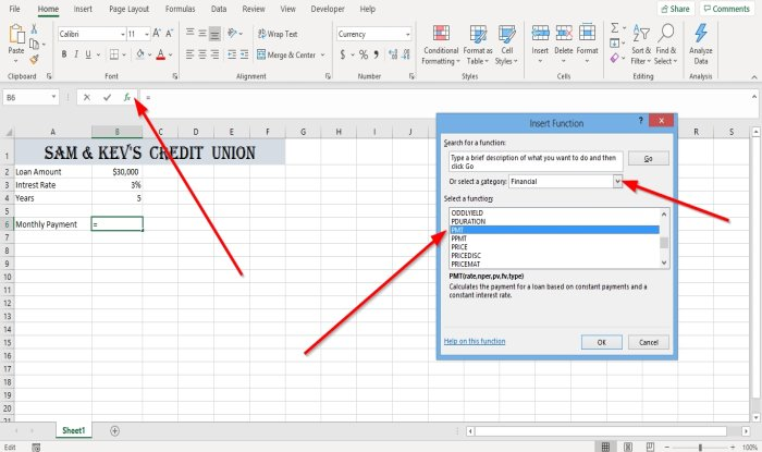 how to use the pmt function in microsoft excel 3 How to infliction ubiquitous PMT Disinter in Microsoft Overleap