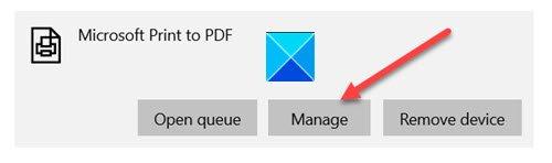 Microsoft to PDF
