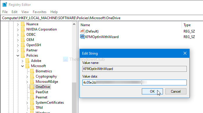 Show notification to users to motility Windows room folders to OneDrive