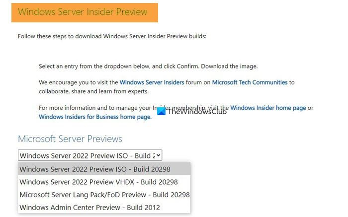 Where to download Windows Tuft Insider Builds