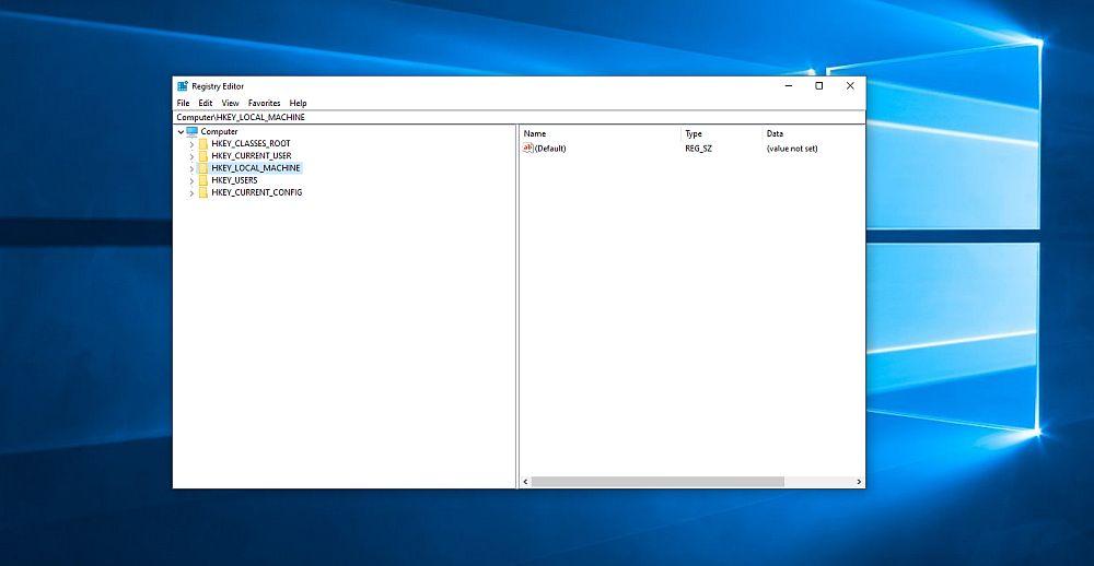 Registry Cleaner procurator Windows 10