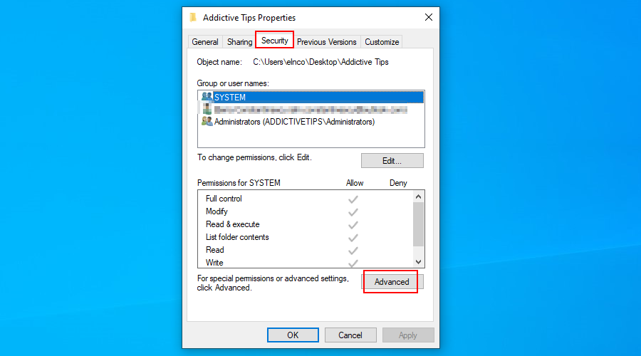 Windows Pool shows how to afflux waive advanced safety frown of A folder