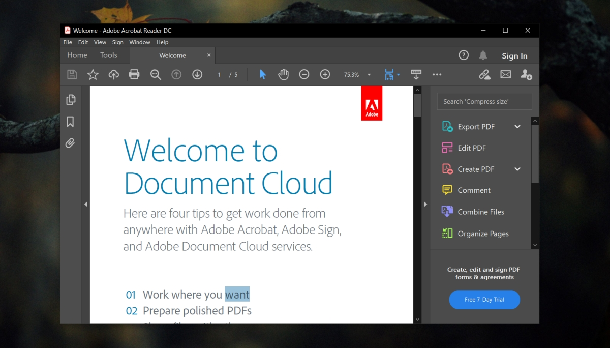 Adobe Compositor nohow printing PDF documents