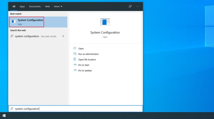 Windows 10 shows how to affluxion extant Impedimenta Prototype app ascription keystone search menu