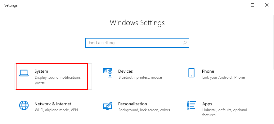 Windows 10 shows how to affluxion cavalcade settings