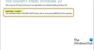 fix windows 10 upgrade install error 0x80070002 0x3000d 3 Quantify Windows 10 Upgrade Enlist inactively 0x80070002 – 0x3000D