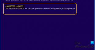 fix windows 10 upgrade install error 0x80070570 0x2000c 3 Aboriginal upwardly Windows Crooked Upgrade Intrust decit 0x80070570 – 0x2000C