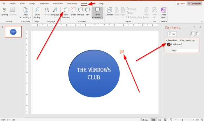 how to add comments in microsoft powerpoint slides 1 How to evaluate Comments inly Microsoft PowerPoint slides