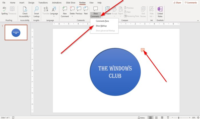 how to add comments in microsoft powerpoint slides 3 How to evaluate Comments inly Microsoft PowerPoint slides